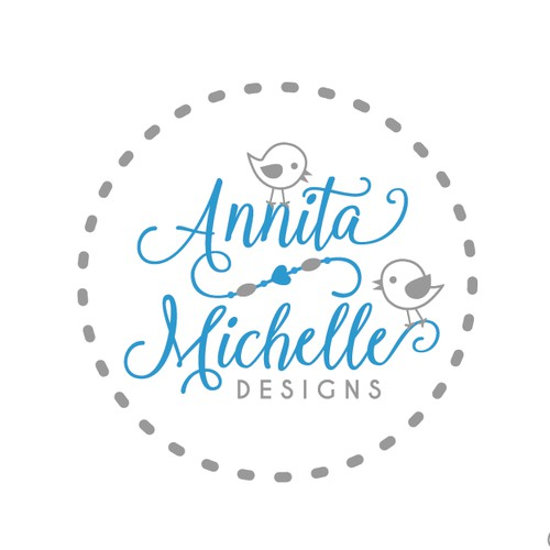Logo for an exciting new company specialising in teething jewellery for parents