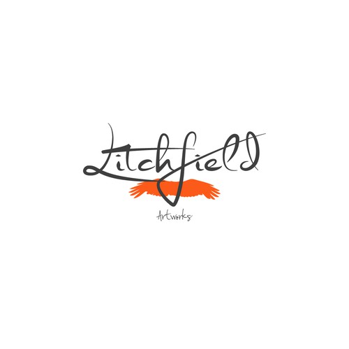 Creating A creative Logo for Litchfield Artworks