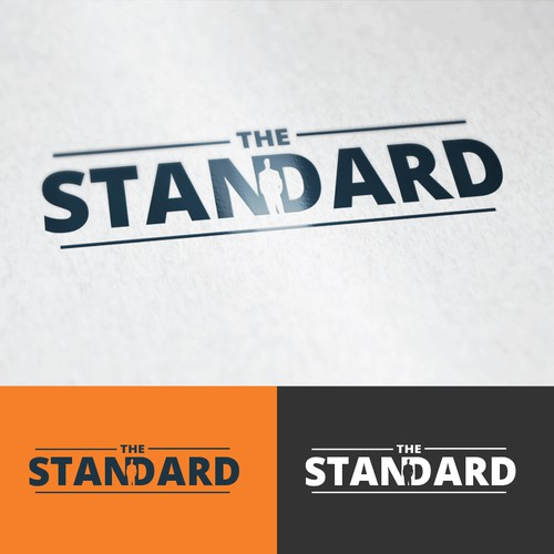 Simple and Modern Logo for The Standard.