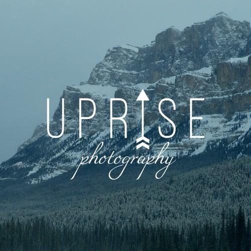 "Logo design for ""Uprise photography"""