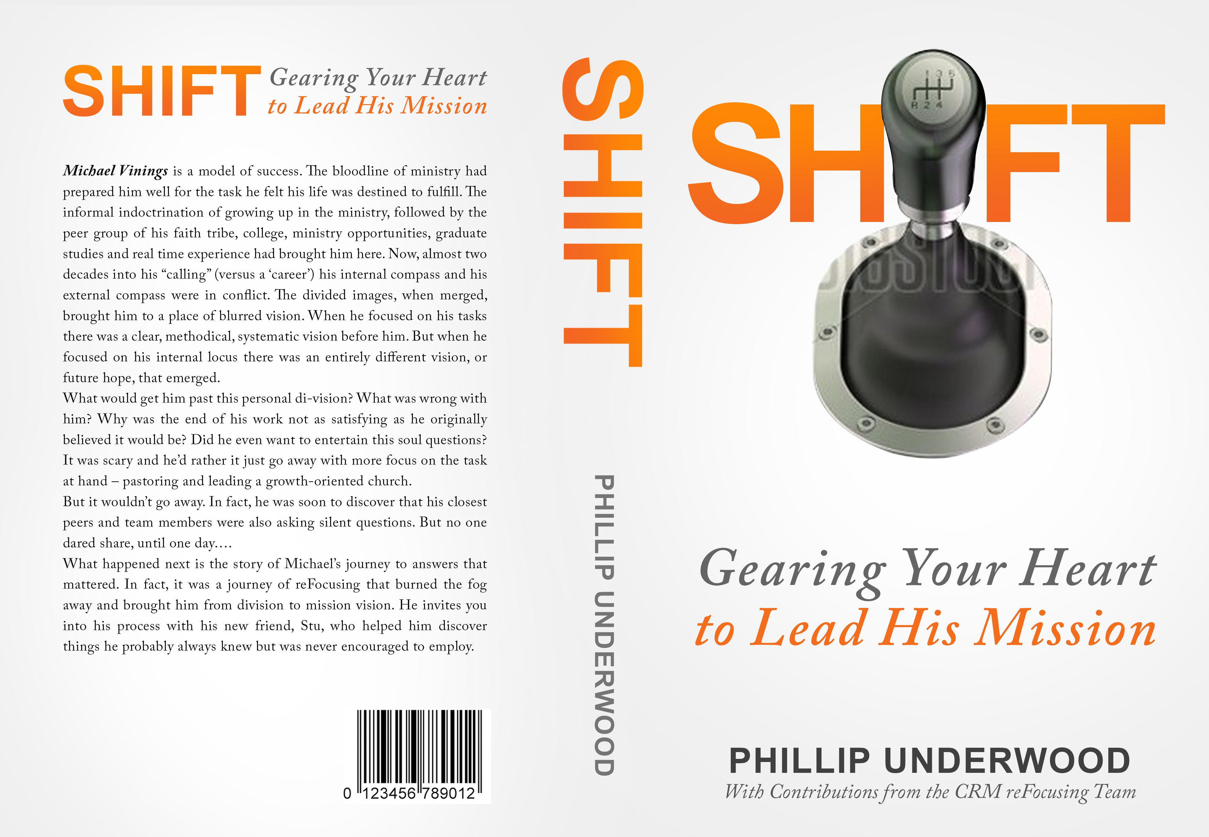 Create Stunning Cover for:  SHIFT: Moving Your Ministry to a Higher Gear