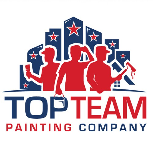 Modern logo for a Painting Company