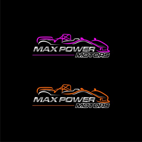 Logo Concept For Max Power Motors