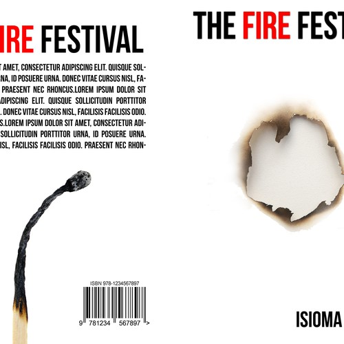 "Cover draft for ""The Fire Festival"""