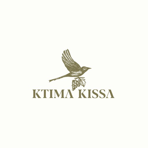 Logo concept for Ktima Kissa.