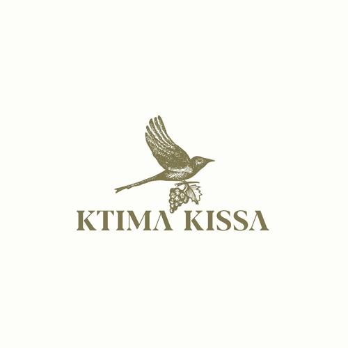 Logo concept for Ktima Kissa.