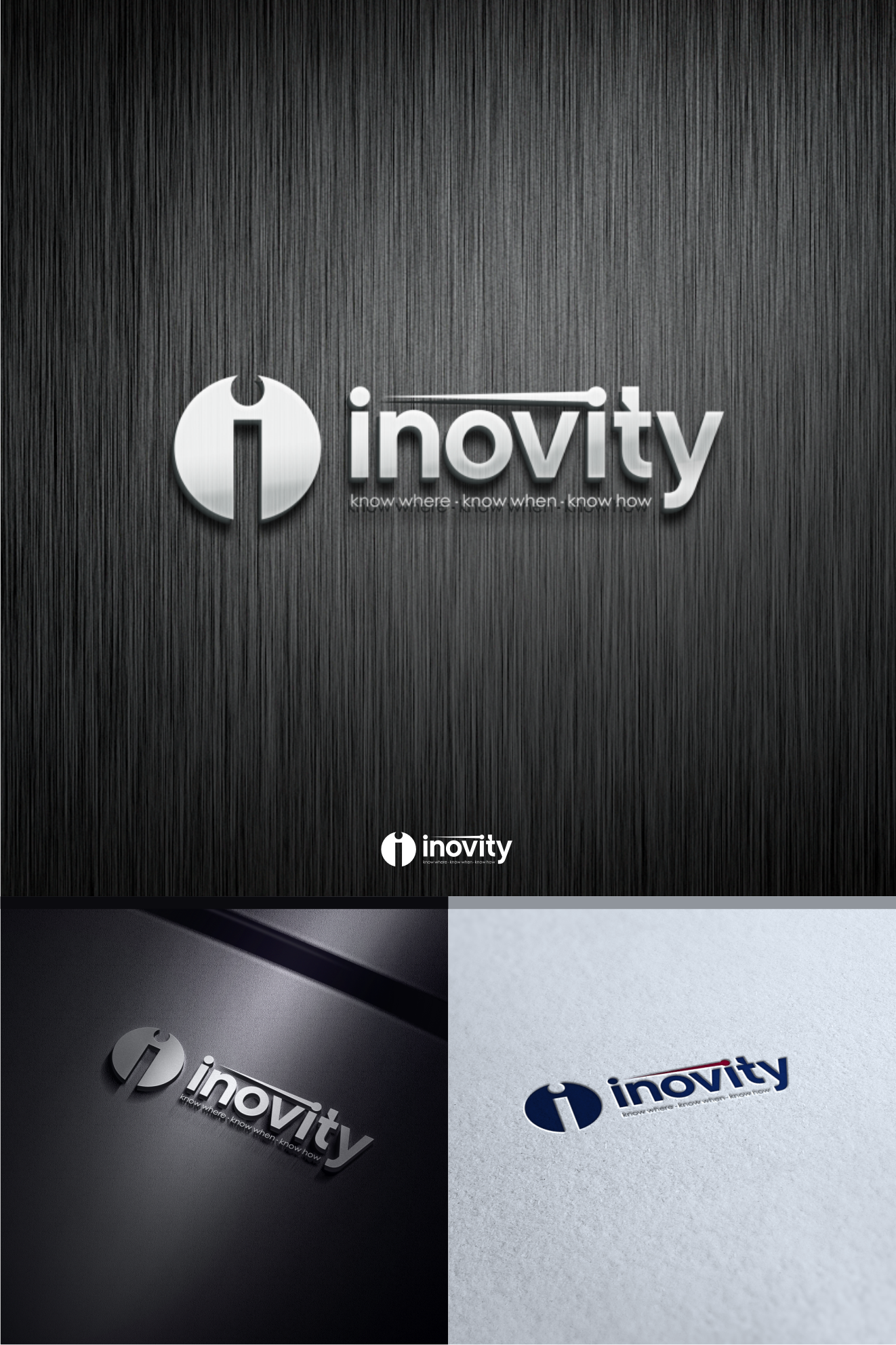 We need innovative new logo and business card for technology company name change.