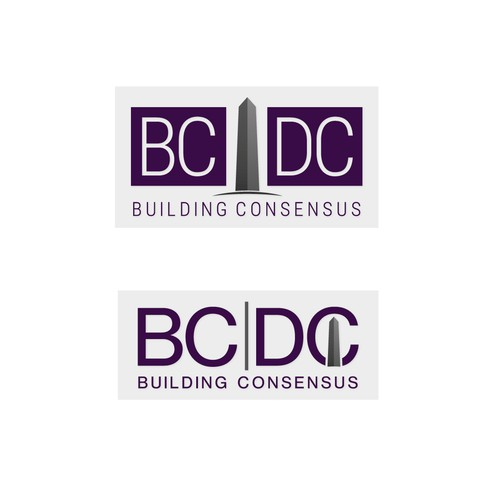 Logo for building consensus