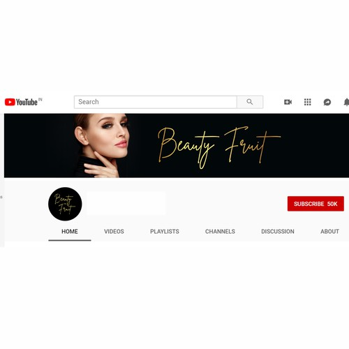 Beauty Fruit YouTube Channel Cover