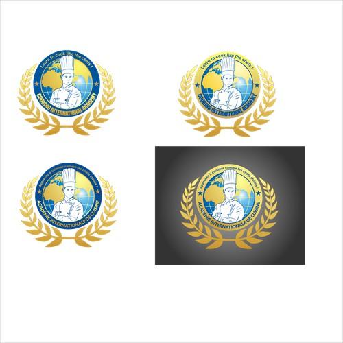 logo for  International Online Cooking High School
