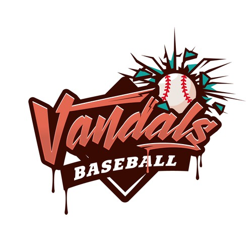 Logo concept for Vandals Baseball