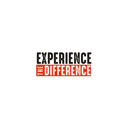 Experience The Difference Logo Design