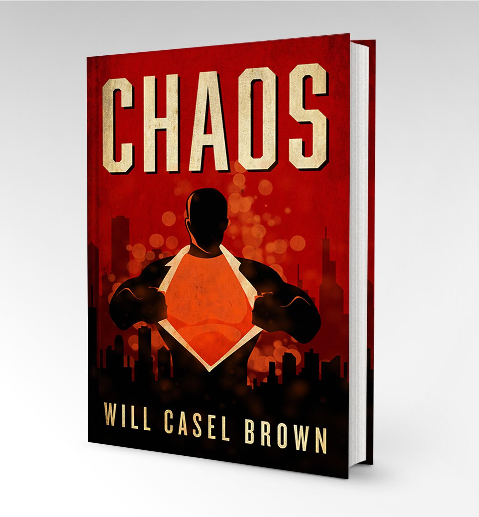 Super-villain eBook needs a powerful cover