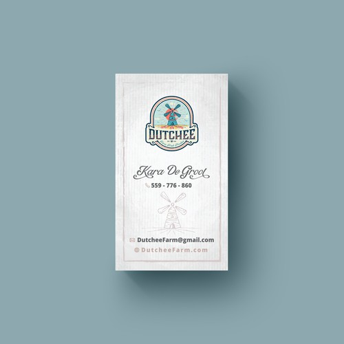 Business card DUTCHEE