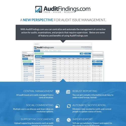AuditFindings Mail Newsletter Design