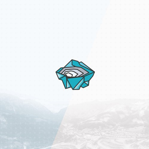 Unique mining logo