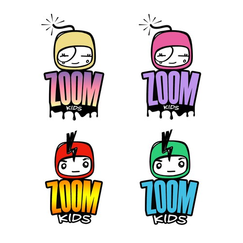 "Create a killer logo for ""ZOOM"" a  YOUTH Community &  BRAND"