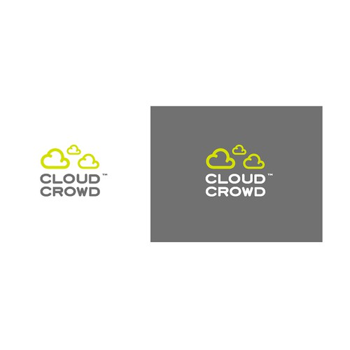 "Logo Design for ""CloudCrowd"""