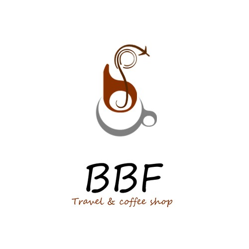 LoGo for Airline Ticketing & Cofffee Shop