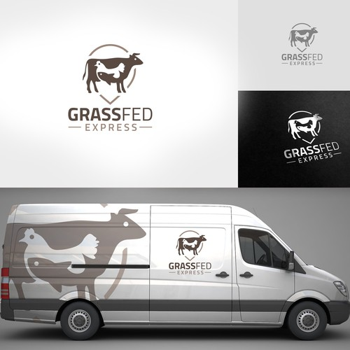 Be part of the organic food revolution – design a fresh logo for Grass Fed Express!