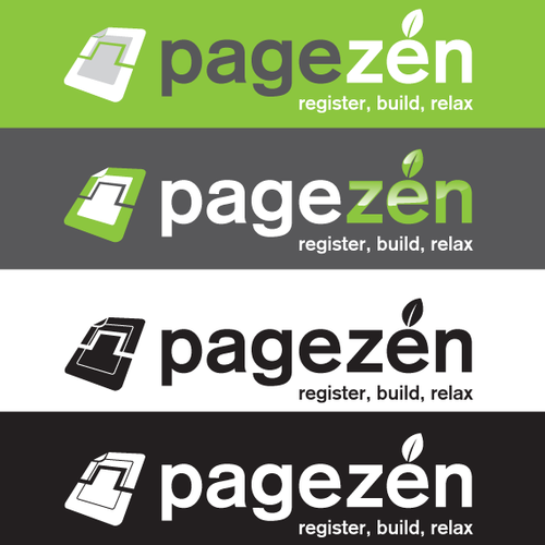 Tech Logo with a relaxing touch for Pagezen