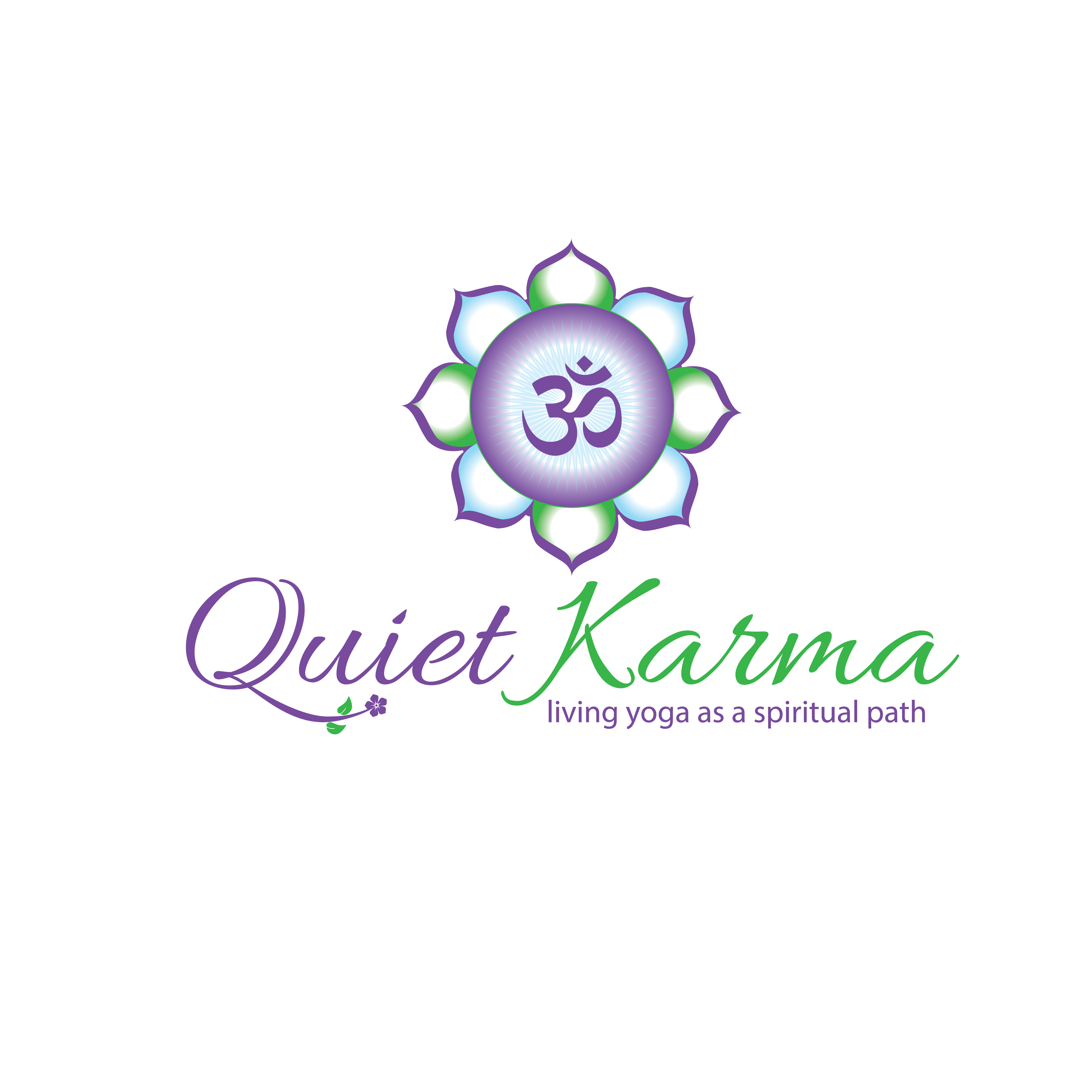 Create an inviting and interesting logo to attract people interested in yoga as a spiritual path