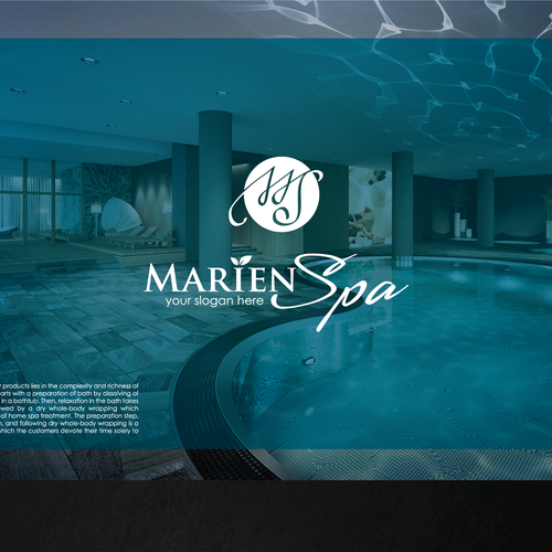 We need new logo for Marien Spa, a supplier of mineral and peat bubble baths