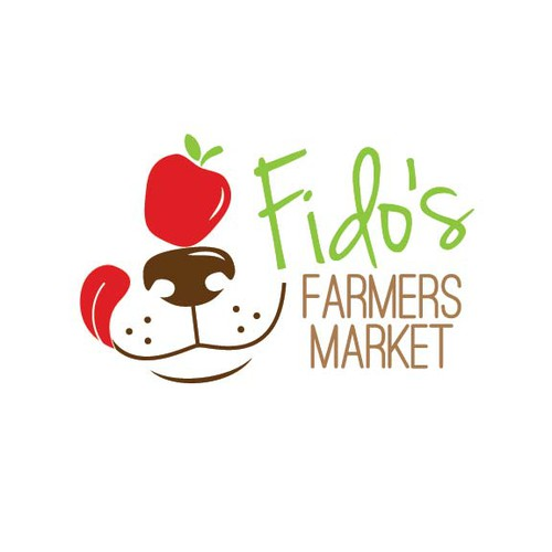 Create the logo for Fido's Farmers Market