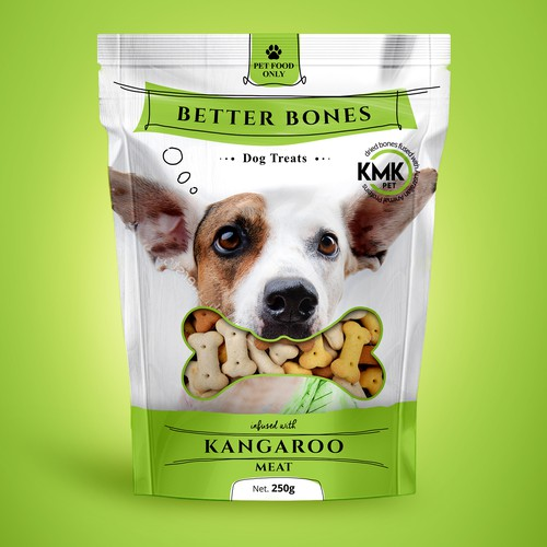 Pet treat package design