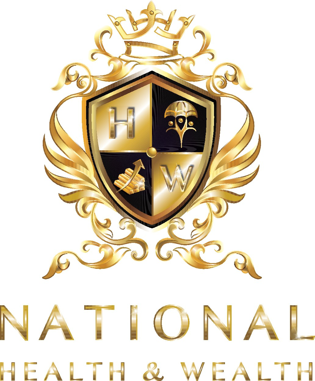 National Health & Wealth needs a distinctive logo, protecting people!
