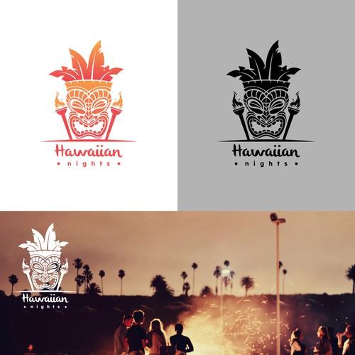 Logo Concept for Hawaiian Nights