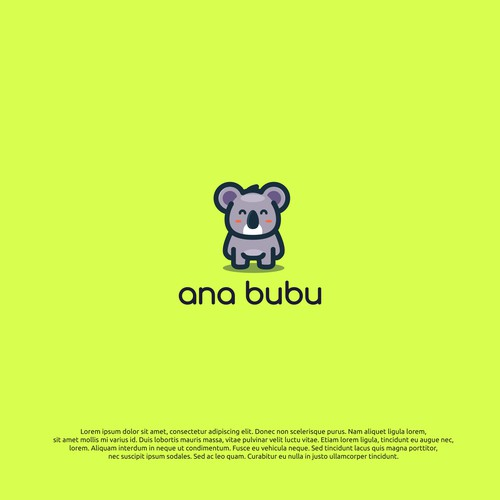 logo concept for ana bubu