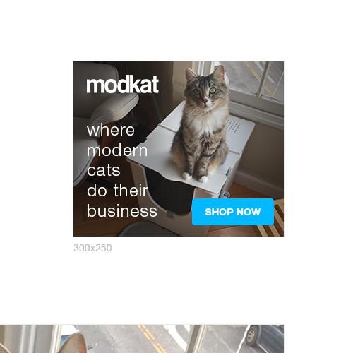 Banner Ad Set for *modkat