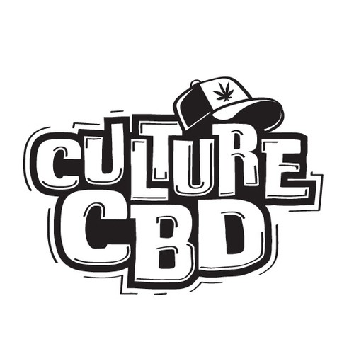 CBD brand logo with an influence from the hip-hop community
