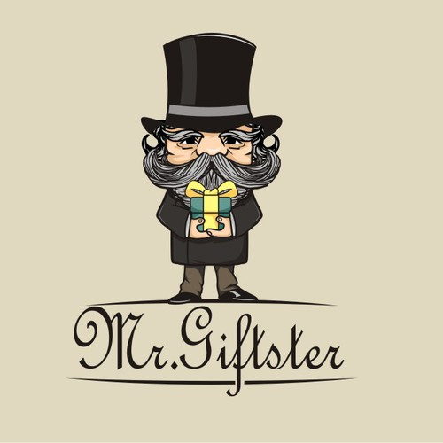 Mr. Giftster needs a Logo.