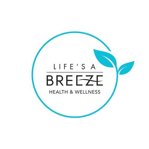 Logo concept for HEALTH & WELLNESS company