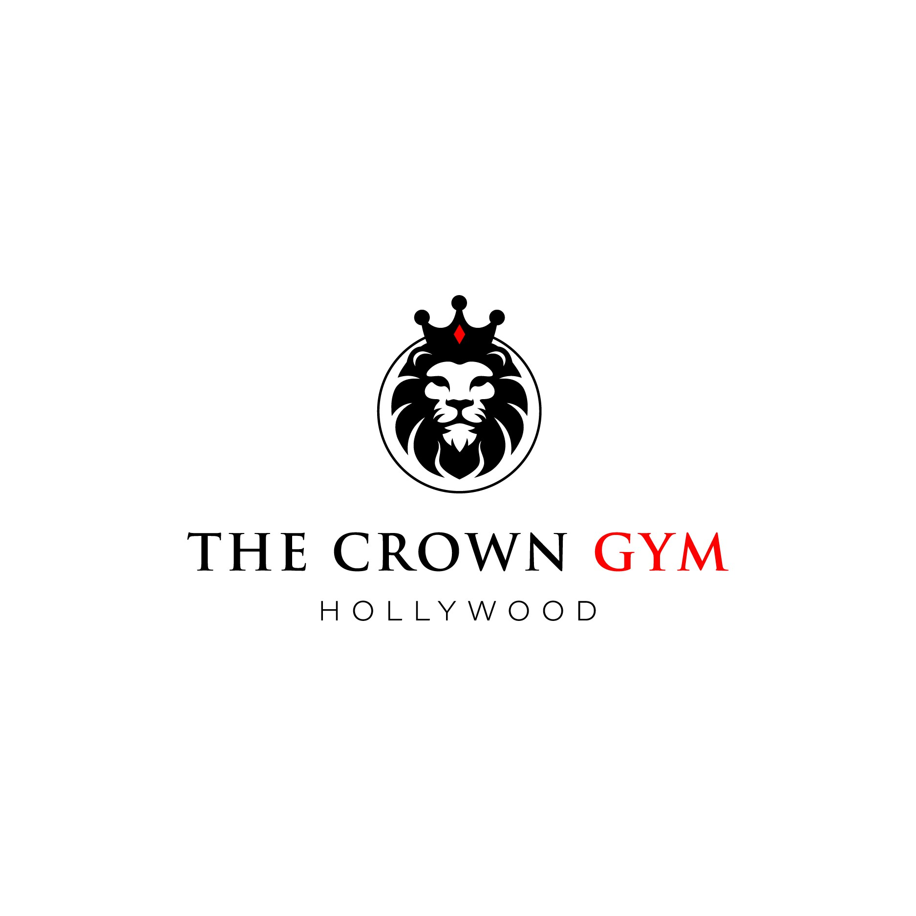 Private gym logo fit for a King