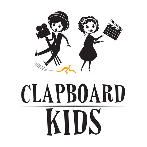 "KIDS FILMMAKING LOGO: Give us your ""take"" on an eye-catching logo! Weteach filmmaking to kids, ages 6 and up."