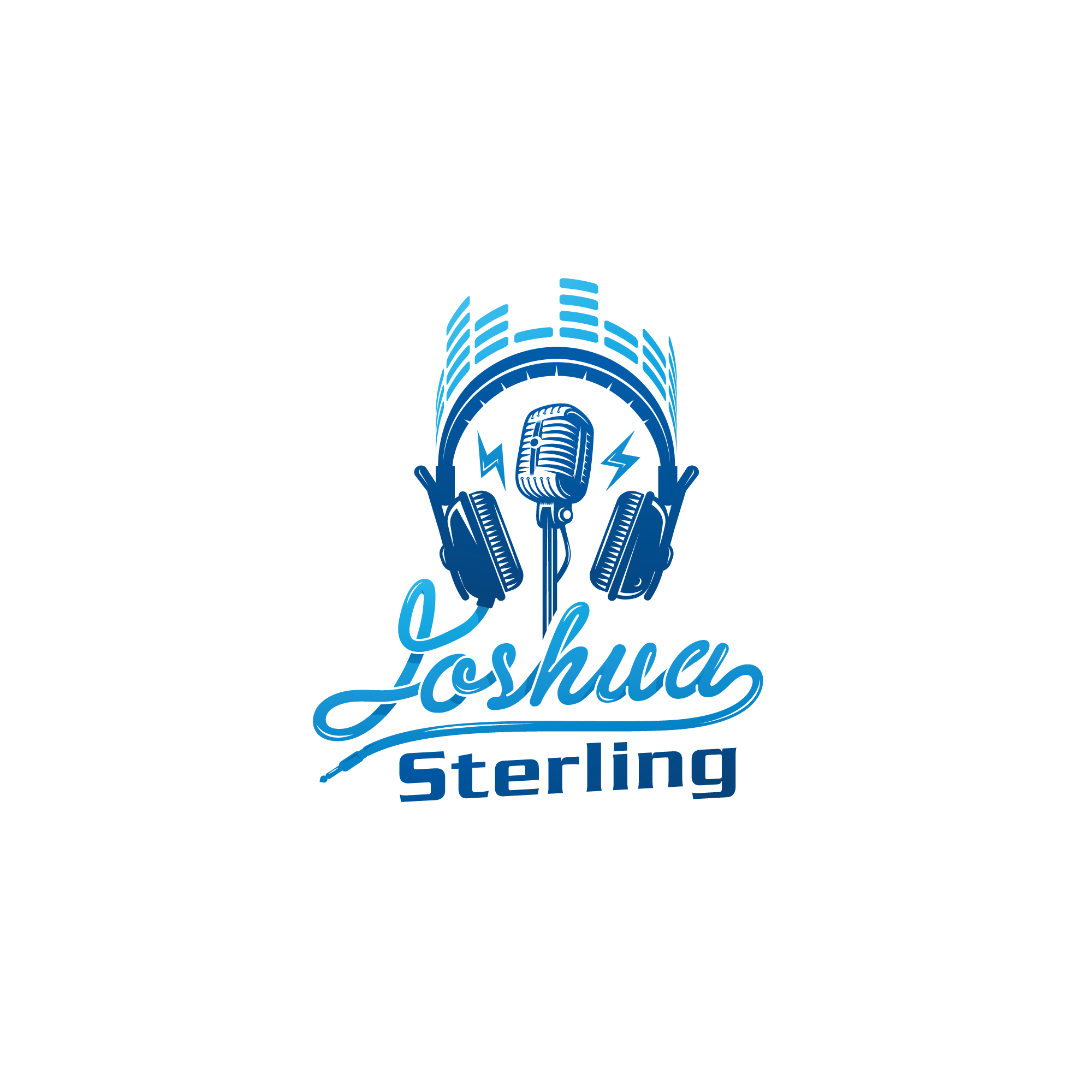 Voice Over Artist, Podcaster and Audio Mixer - Design My Logo - Pretty Sure I Do Too Many Things...