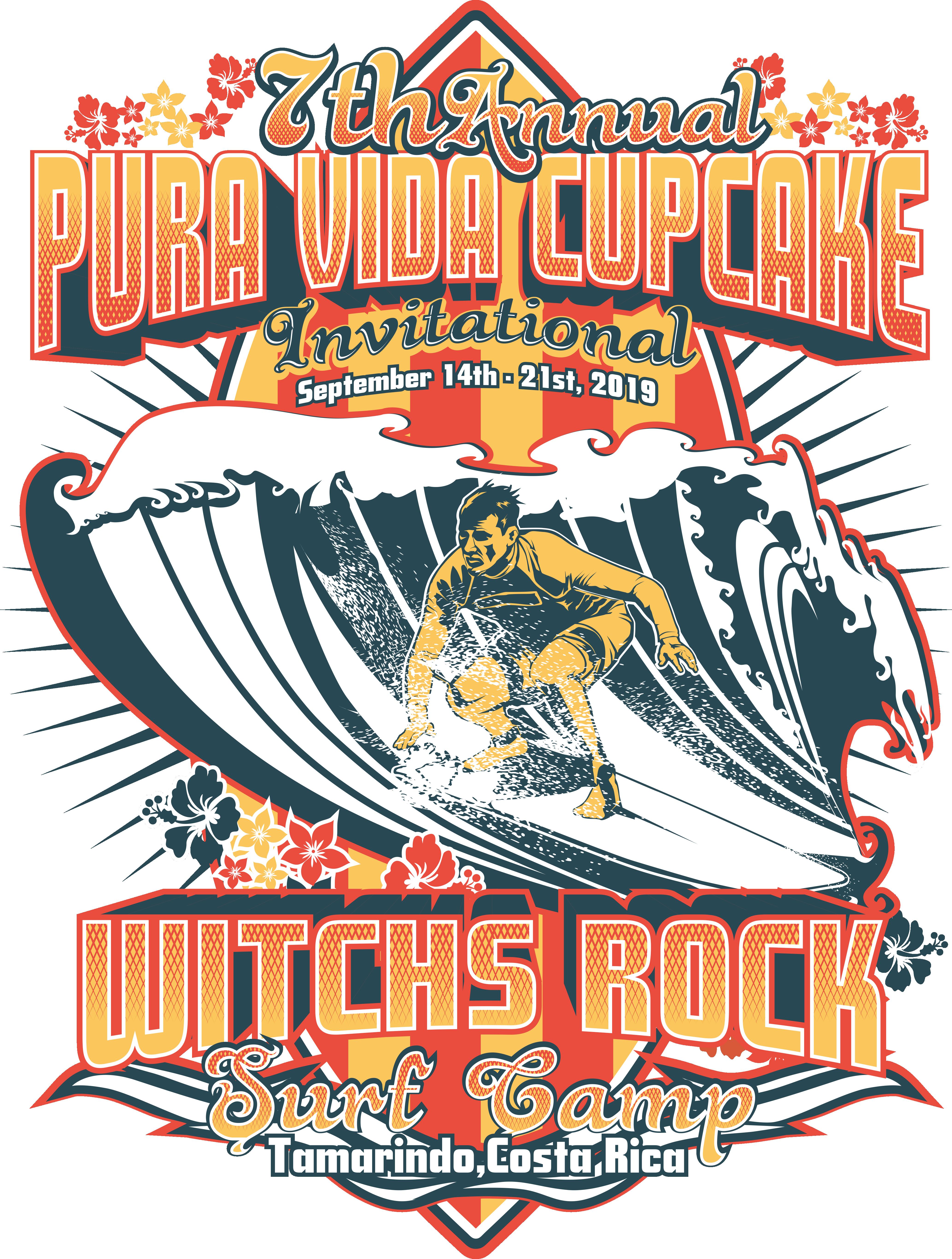 Pura Vida Invitation Tee 2019