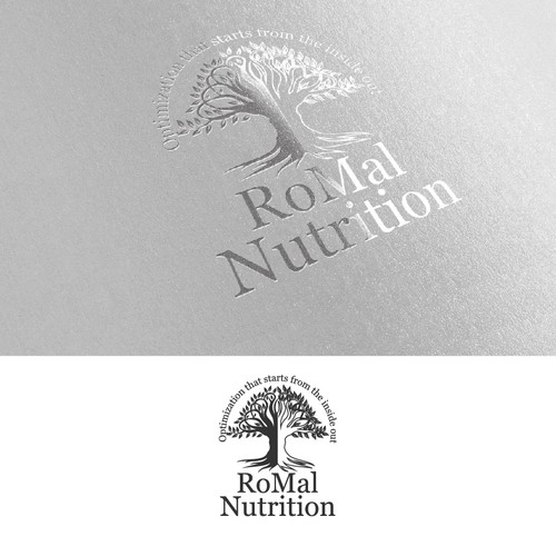 A unique Logo for the most trusted supplement company RoMal Nutrition