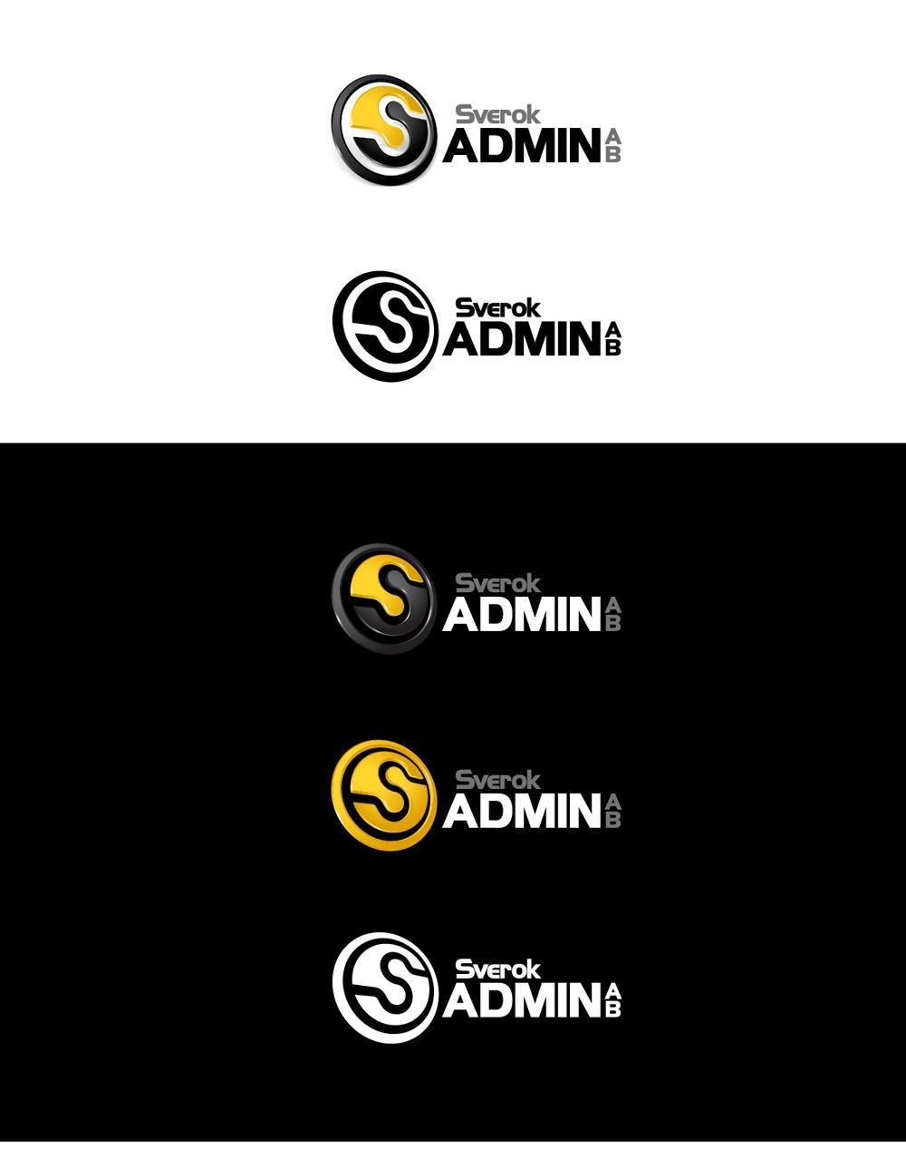 Create the logo for Sverok Admin AB
