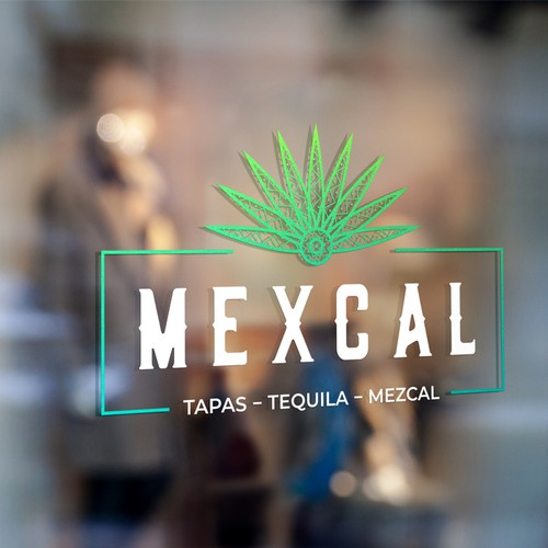 Logo concept for a Mexican restaurant and bar.