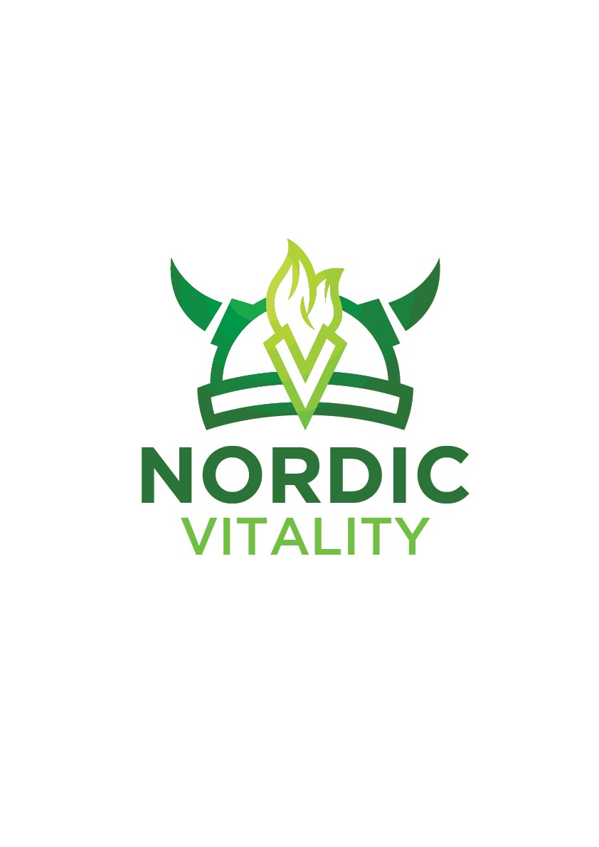 Create an eye-catching design for Nordic Vitality, Something that stands out
