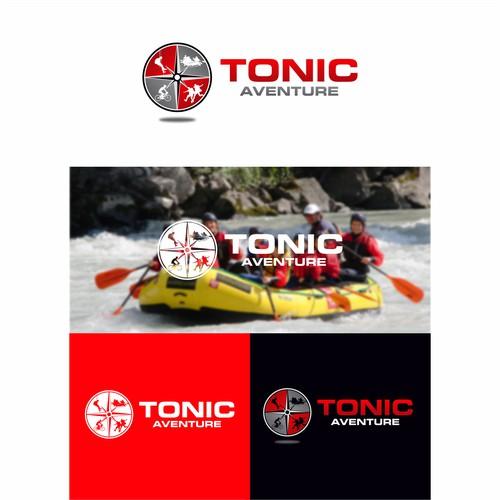 Création d'un logo pour TONIC Aventure