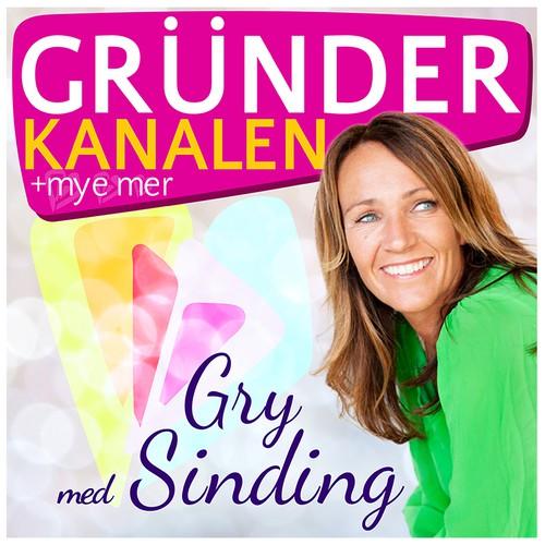 Podcast Cover Art for a Norwegian/New York Woman Entrepreneur