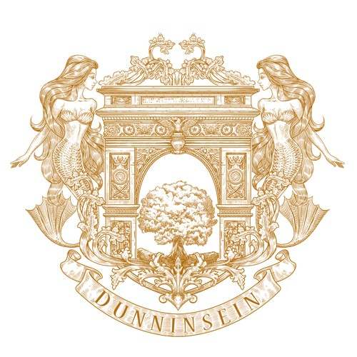 Create a beautiful, organic family crest for the Dunninsein family!