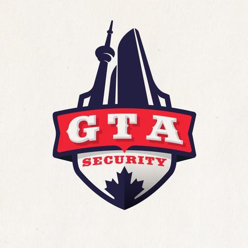 Logo for Toronto City security firm! GTA (Greater Toronto Area)