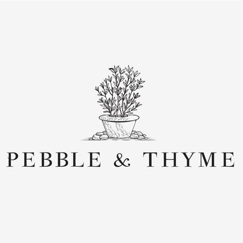 Logo Design for Pebble & Thyme