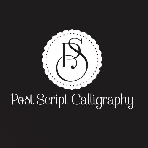 Logo Design for Post Script Calligraphy